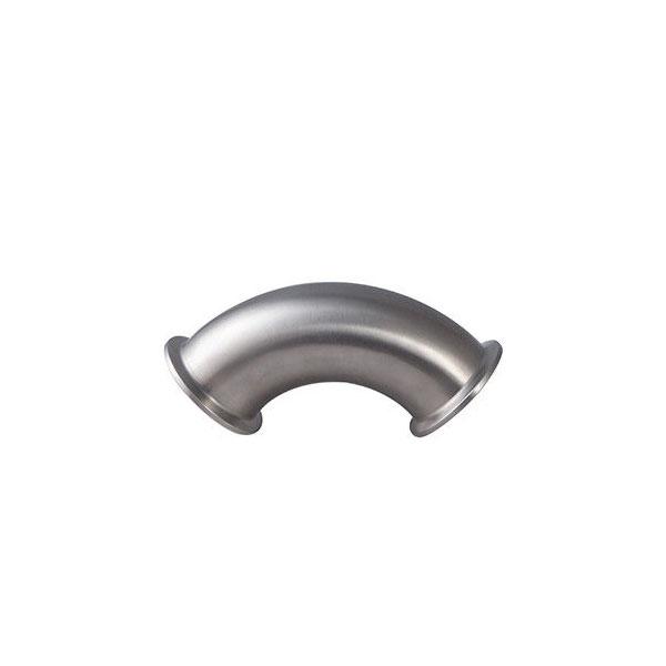 Sanitary Stainless Steel ss304 90 Degree Mirror Polishing Elbow