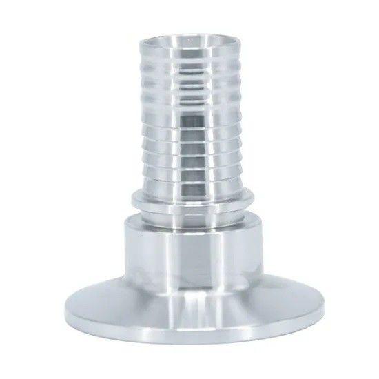 Hygienic Ferrule Adaptor Rubber Hose Tri Clamped Hose Adapter Hose Tail