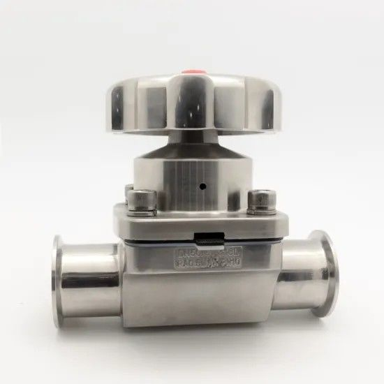 Sanitary Stainless Steel 2 Way Diaphragm Valve for Dairy Equipment