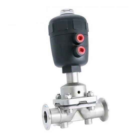 Sanitary Stainless Steel 316L Hygienic Pneumatic Actuator Diaphragm Valves