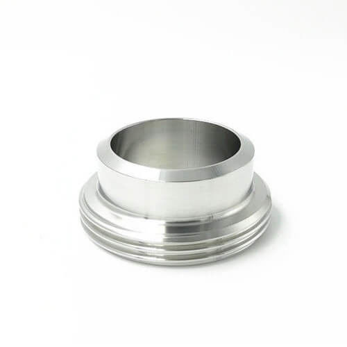 Stainless Steel SS 304 316L Food Processing SMS Long Liner Union fittings