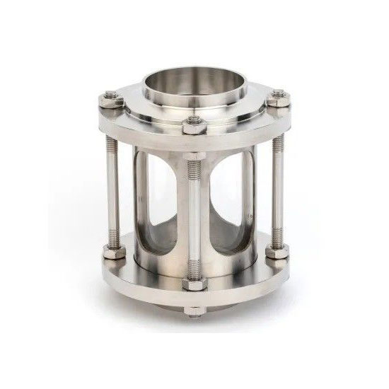Sanitary Food Grade Butt Weld Stainless Steel SS304 Sight Glass