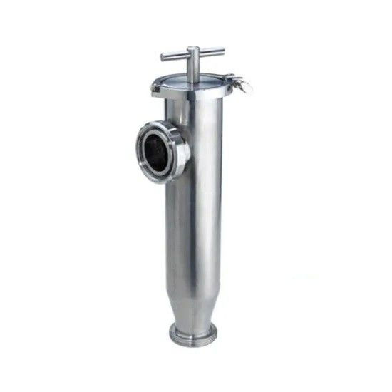 Sanitary SS304 SS316L Sanitary Filter Threaded Welded Clamped Straight Type