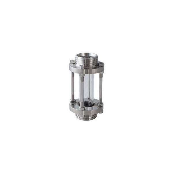 Sanitary food Grade ss304 ss316 Welded Threaded Clamped Tubular Sight Glass