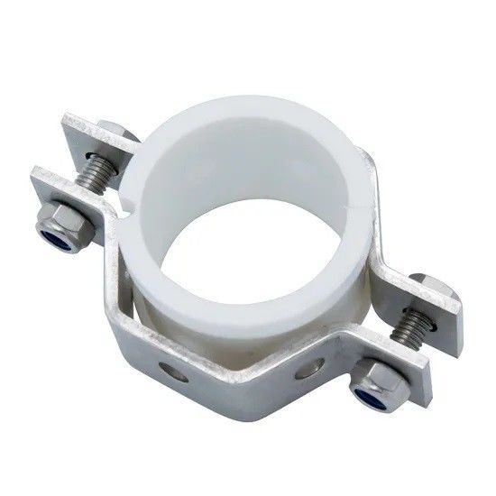 Durable Ss304 Ss316l Hex Pipe Tube Holder Tri Clamp Pipe Fittings With Seal