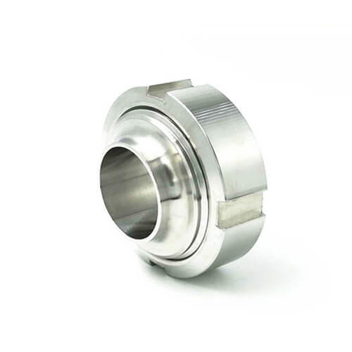 Hygienic 3A DIN SMS ISO Idf Rjt Food Grade Sanitary Pipe Fittings Union