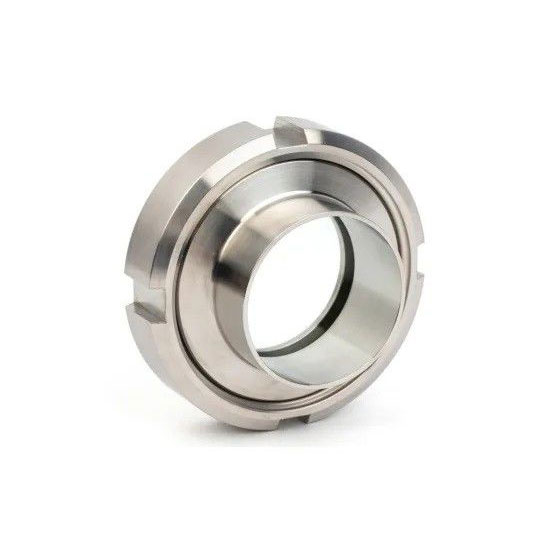 304 316L Stainless Steel Sanitary Hygienic Unions welded Connection for Pipe Systems