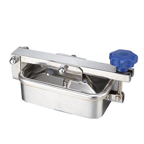 Sanitary Hygienic Rectangle Tank Vessel Manhole Covers Manway