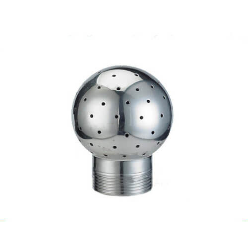 Tank Cleaning Fixed Sanitary Spray Balls Male Thread 304 316L DIN Standard