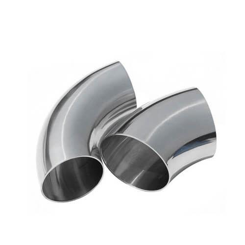 Sanitary Stainless Steel 45 90 180 Degree Butt Weld Bending Elbow Fittings