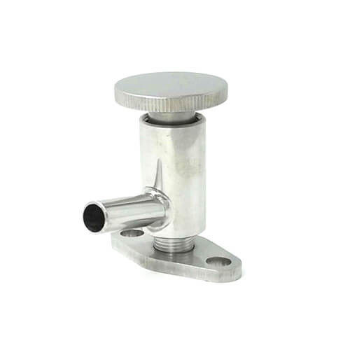 Sanitary Stainless Steel Clamped Sampling Valve with PTFE Seal