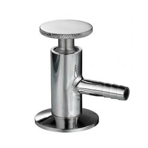 Manual Sanitary Stainless Steel Sample Valve with Clamp End