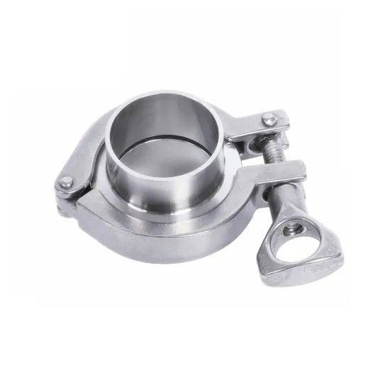 Hygienic food grade Sanitary stainless steel SS 304 316L Clamped Union Complete Set