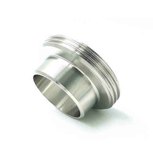 304 316L Sanitary Stainless Steel Pipe Fittings Union Male Thread Liner