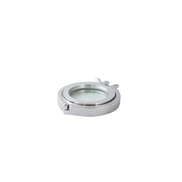 Sanitary Stainless Steel Food Grade 304 316L Union Clamped Type Sight Glass for Tank