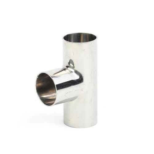Hygienic Sanitary Stainless Steel 304/316L Clamp/Welding Equal/Reducing Tee