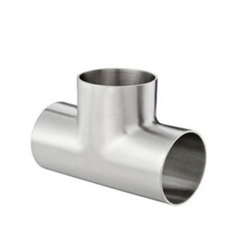 Food grade Stainless Steel Sanitary Pipe Fitting Thread Equal Tee