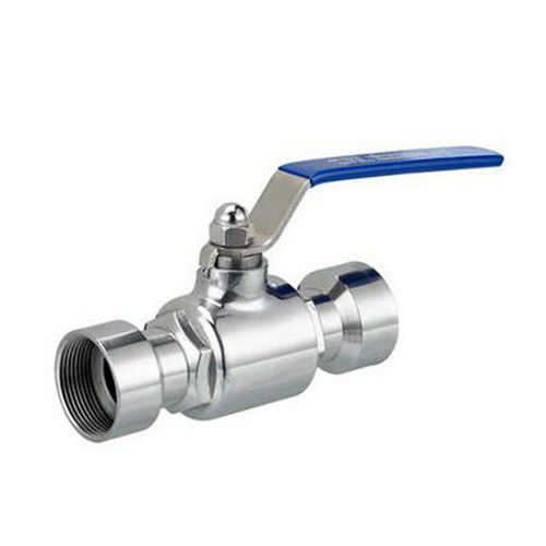 Hygienic Sanitary stainless steel 304,316L Two Way Ball Valve male and female threaded with Handle
