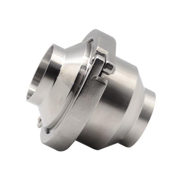 Hygienic food grade Sanitary Stainless Steel 304 Union type welding Non Return Valve