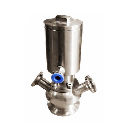 Sanitary Pneumatic Aseptic Sample Valve with Tri Clamp Connection