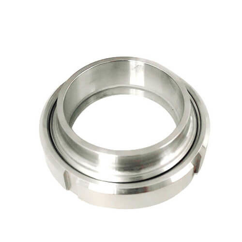 SS304/316L Sanitary Stainless Steel 3A SMS DIN ISO Pipe Fitting Union