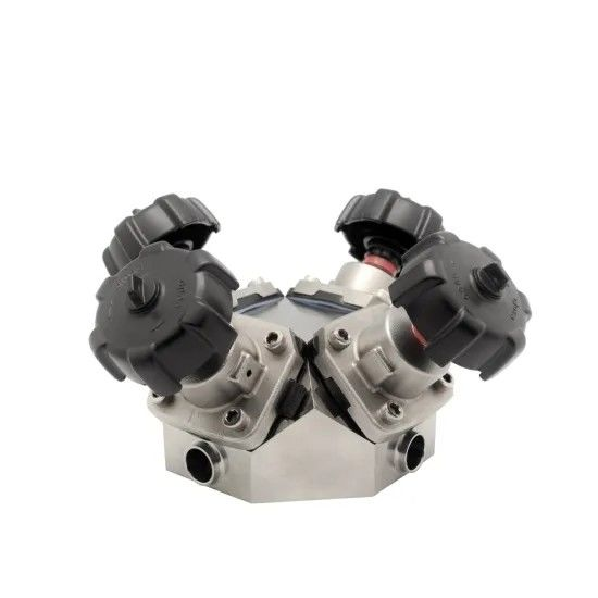 Fine Adjustment Manual sanitary stainless steel Butterfly Valves 2inch S316L for Food Grade