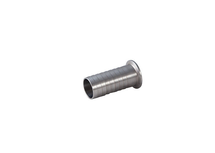 DIN Sanitary Grade 14MPHR Rubber Triclover Hose Tail Stainless Steel Ss304 316l