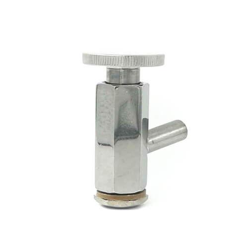 Stainless steel Sanitary Sample Valve Welding For Beverages Dairy Products