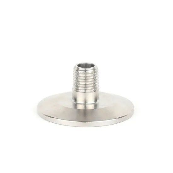 Ss304 Ss316l Clamped Mini Hose Sanitary Adapters Of Stainless Steel