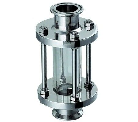 Food Grade sanitary Ferrule Clamping Sight Glass with SS304 SS316L