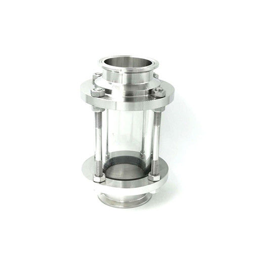 Sanitary Straight Stainless Steel 304 Tri-Clamp Inline Sight Glass