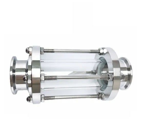 Sanitary Stainless Steel Tri Clamped Straight Union Tubular Sight Glass