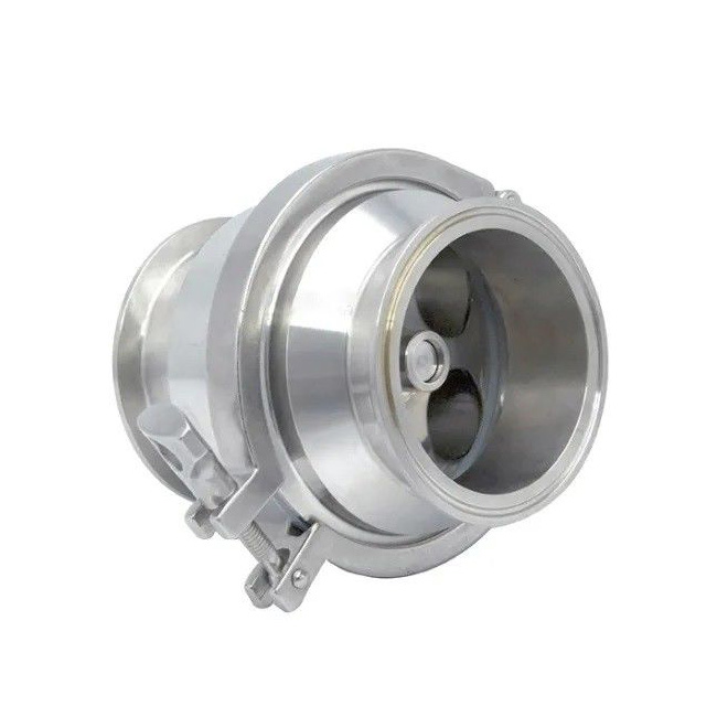 Sanitary Check Valve Tri Clamp Type Stainless Steel Ss SUS 304