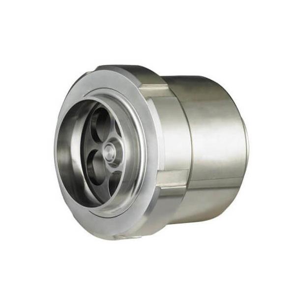 Stainless Steel 304 Union Body Hygienic Sanitary Non Return Check Valve