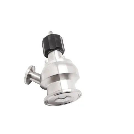 Aseptic Sanitary stainless steel 316L Tri Clamp Sample Valve For Brewery Industry