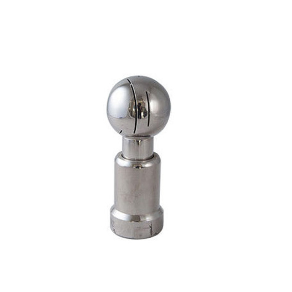 SS304 SS316L Round Sanitary Spray Balls Bolted , Tank Cleaning Spray Nozzles